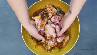 Juharszirupos fűszeres csirkeszárny recept – Finoman édes és földes
