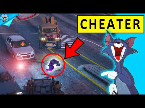 This player was cheating so we trolled them   GTA 5 Online [Part 1]