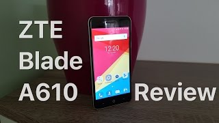 ZTE Blade A610 - Review