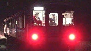 JR三江線 キハ120×4B回送 本当にホントの最終列車 (31-Mar-2018)