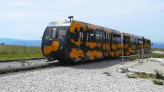 preview picture of video 'Schneeberg Schneebergbahn Salamander train Salamanderbahn Puchberg Holiday Austria mountain 1'
