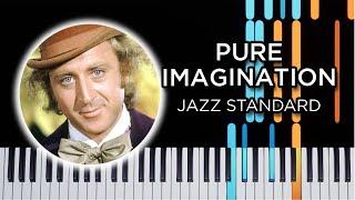 Pure Imagination - Jazz Piano Solo Tutorial