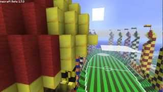 Minecraft: Harry Potter Quidditch Pitch (1:1 Scale)