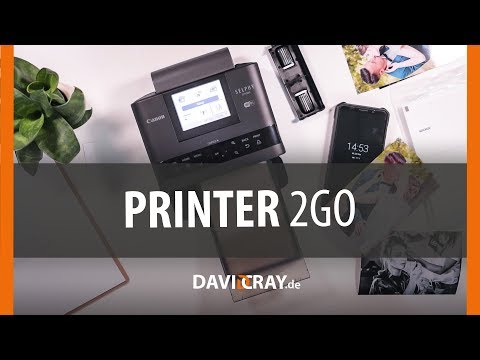 ⭐ MOBILER Fotodrucker mit Laborqualität. REVIEW Canon SELPHY CP1300   David Cra