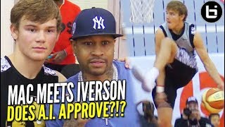 Mac McClung PROVES Himself at Iverson Roundball Classic in FRONT OF A LEGEND!!