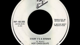 Hot Chocolate ~ Every 1's A Winner 1978 Disco Purrfection Version