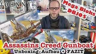 Mega Bloks DBJ05 Assassins Creed  Gunboat TakeOver - Unboxing, Aufbau + Fazit