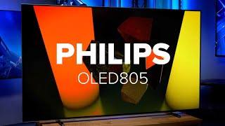 Raumstimmung durch eingebautem Ambilight | Philips OLED805 TV im Test | Computer Bild [deutsch]