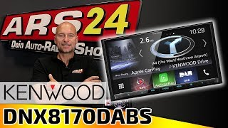 Kenwood DNX8170DABS | Alleskönner Autoradio Produktvorstellung | ARS24