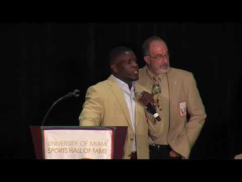 Frank Gore acceptance speech - 2018 UM Sports Hall of Fame banquet