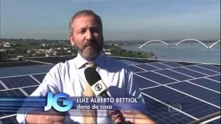 Reportagem do Jornal da Globo - Sustentabilidade