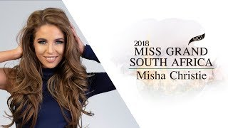 Misha Christie Miss Grand South Africa 2018 Introduction Video
