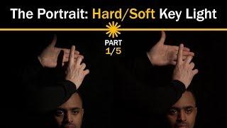 Портрет: Жесткий/мягкий ключевой свет