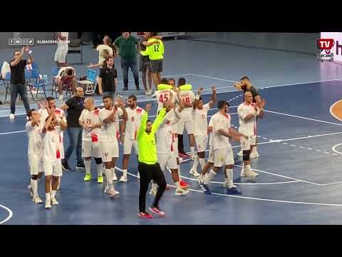 احتفال جنوني ليحيى الدرع عقب إحراز هدف الفوز على الأهلي في الثواني الأخيرة
