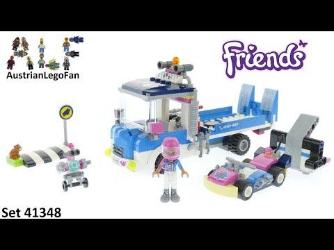Vidéo LEGO Friends 41348 : Le camion de service
