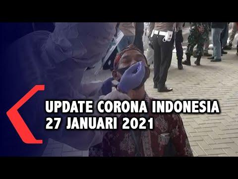 Update Corona 27 Januari: 1.024.298 Positif, 831.330 Sembuh, 28.855 Meninggal Dunia