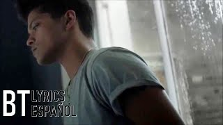 Bruno Mars - It Will Rain (Lyrics + Español) Video Official