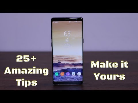 25+ Amazing Tips to Customize your Samsung Galaxy Note 8