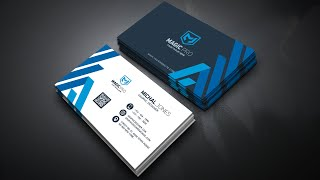 How to Design Business Card With Photoshop CC 2020 - Learn Photoshop