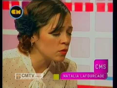 Natalia LaFourcade video La fugitiva - Estudio CM Agosto 2012