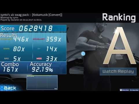 Steam Community :: Video :: 4 6⭐ Osu!Mania Kokamusik 4k