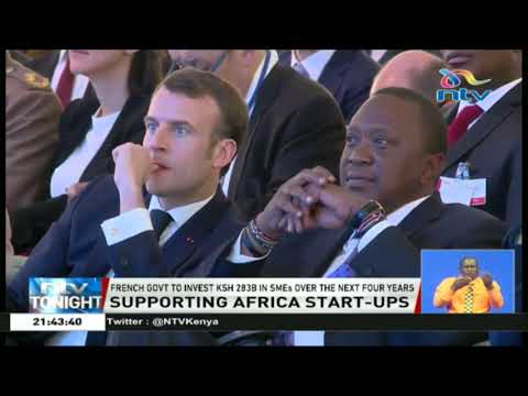 President Macron joined President Uhuru at official opening of UNEA