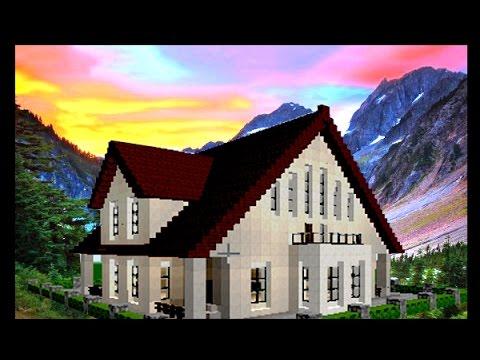 Minecraft Easy House Super Tutorial