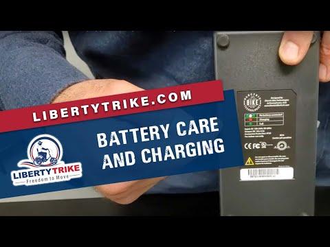 Liberty Trike | Battery Care & Charging