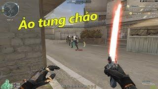 Dao Laser Nâng Cấp(Laser Sword) Chém Ảo Tung Chảo - Rùa Ngáo