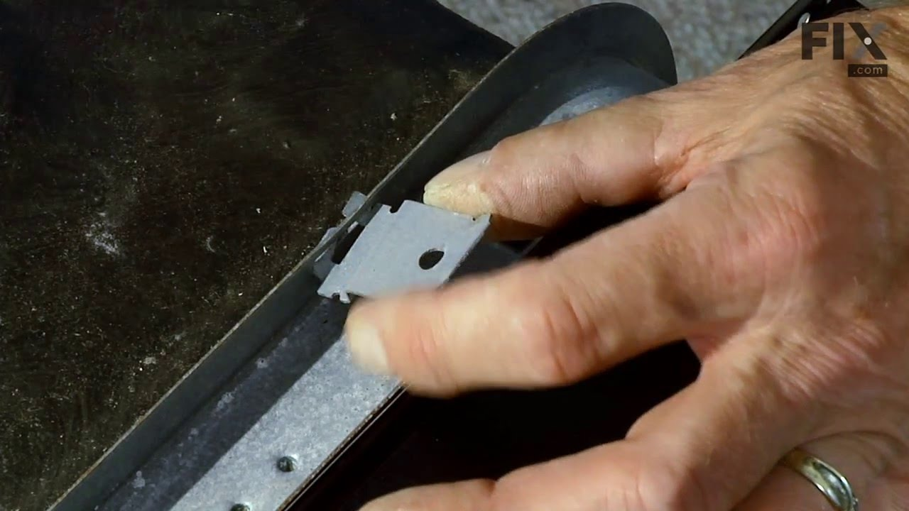 Replacing your KitchenAid Dishwasher Mounting Bracket