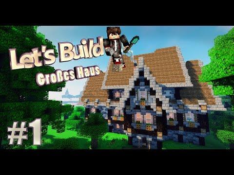 Minecraft Großes Mittelalterliches Haus Bauen Tutorial Deutsch Part - Minecraft hauser bauen tutorial