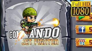 Commando Jet Fighter Game Review 1080P Official Orkun2U Studios Arcade 2016