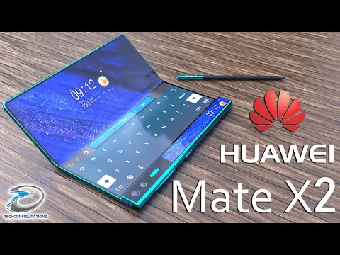 Huawei Mate X2 with Inward folding Design Concept ,Specifications,Price & Launch Date #TechConcepts
