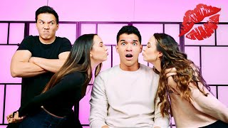 Who Kissed Who Challenge! ft Merrell Twins & Aaron