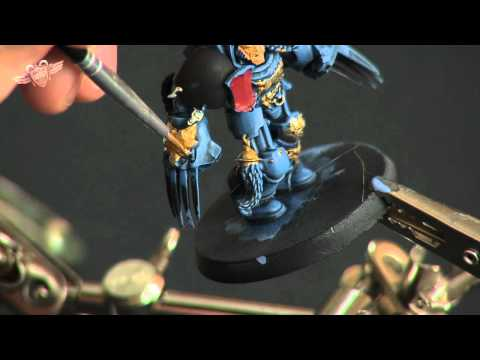 How to paint a Space Wolf Terminator - part 3