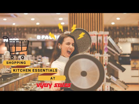 Vijay sales | Kitchen essentials | Shopping