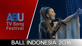 Ayree - My Motherland (Kazakhstan) - ABU TV Song Festival 2016