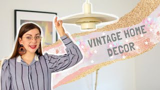 I Thrifted Vintage Decor For My House! (Mostly) Midcentury Modern Haul
