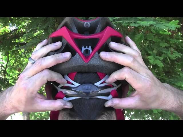 Видео Велосипедный шлем Bell DELIRIUM blue
