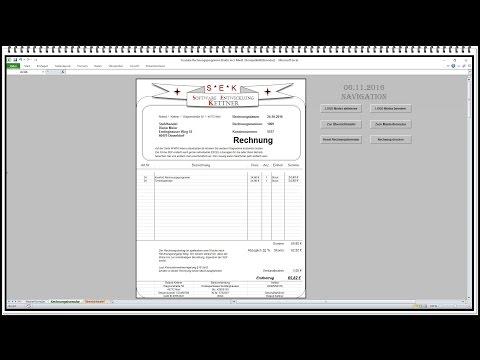 Einfache zu bedienende  Rechnungssoftware Easy Faktu auch für Kleingewerbe §19 UStG kostenlose DEMO