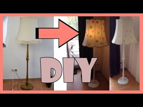 DIY Alte Lampe neugestalten