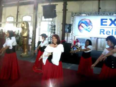 Cia Debby Maia na Expo Religião 2017-Dança Cigana