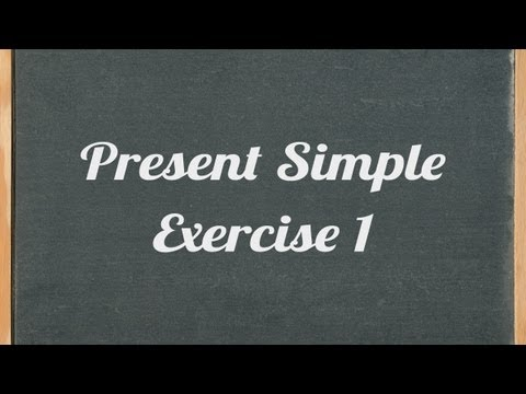 mp4 Exercise English Simple Present, download Exercise English Simple Present video klip Exercise English Simple Present