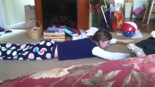 Brooke's Brain Balance Exercises (day 2)