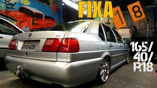 VW Santana rodas Amarok 165/40R18   FIXA   Catrak Preparações