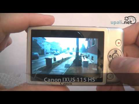 Canon IXUS 115 HS video test