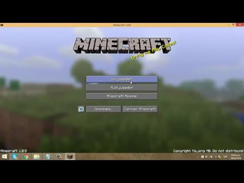 Download Como descargar Minecraft 2016 todas las versiones + Java + Faithful HD Mp4 3GP Video and MP3
