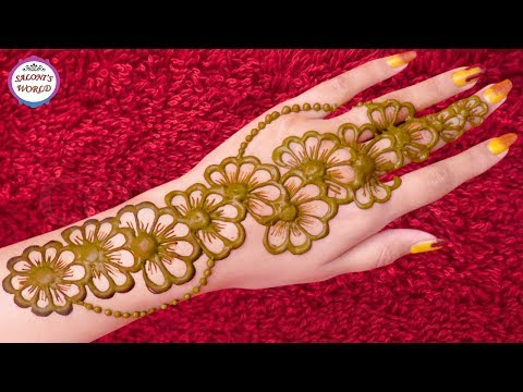Beautiful Latest Mehndi Designs Bridal Henna Henna Tutorial By