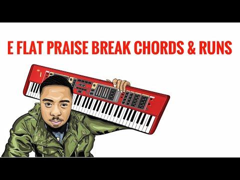 Eb Praise Break Chords & Runs