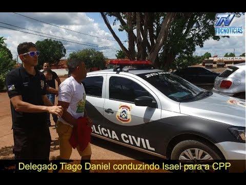 Delegado Tiago Daniel fala da prisão de pai que estuprou a filha em Aguiarnópolis